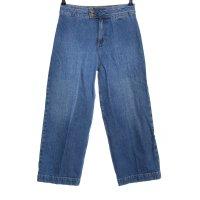 Sezane High Waist Jeans blau Casual-Look
