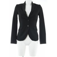 Sisley Smoking-Blazer schwarz-grau Nadelstreifen Business-Look