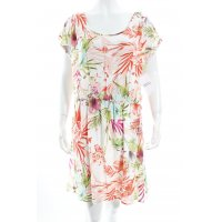 United Colors of Benetton Kurzarmkleid florales Muster