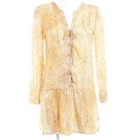 Zara Woman Blusenkleid florales Muster Boho-Look