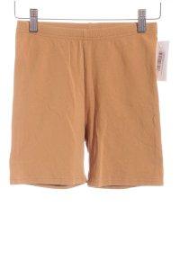 American Apparel Hot Pants camel schlichter Stil