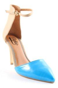 Buffalo London Sandaletten mehrfarbig Lack-Optik
