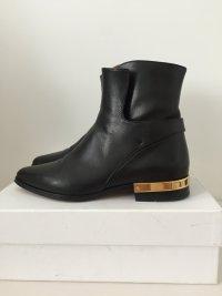 Chloe Chloé Biker boots schwarz susanna