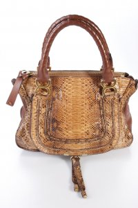 Chloé Handtasche Marcie Schlangenoptik