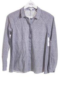 COS Oversized Bluse weiß-schwarz Karomuster Street-Fashion-Look