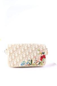 Dior Umhängetasche florales Muster Casual-Look