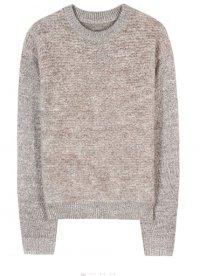 Goldener Wollpullover von By Malene Birger Metallic-Pullover Kinno