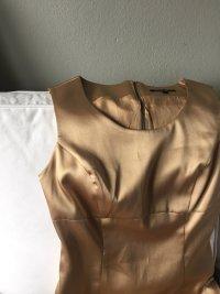 Goldenes Kleid von Hallhuber Femme