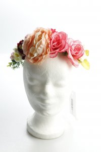 Haarreif Blumenmuster Gypsy-Look