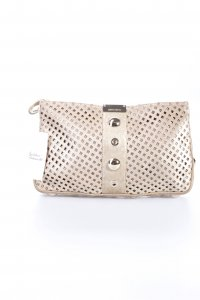 Jimmy Choo Clutch goldfarben