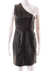 Jimmy Choo for H&M Lederkleid schwarz Elegant