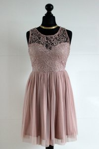 Kleid Lace Spitze Sommer Ball Blogger