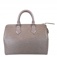 LOUIS VUITTON SPEEDY 25 HENKELTASCHE AUS EPI LEDER IN LILAC