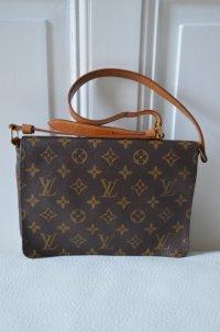 LOUIS VUITTON Tasche Umhängetasche Leder klassisches Design Original