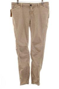 Massimo Dutti Slim Jeans hellbraun Casual-Look