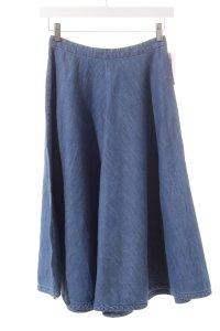 Monki Jeansrock blau Vintage-Look