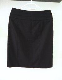 Pencil Skirt, schwarz