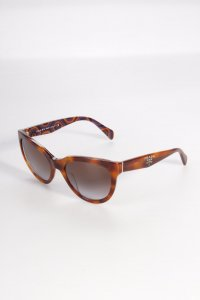 Prada Sonnenbrille braun gemustert