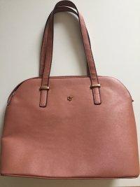 Rosa Handtasche mit Henkeln