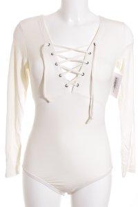 SassyClassy Shirtbody creme Street-Fashion-Look