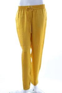 Schumacher Stoffhose gelb