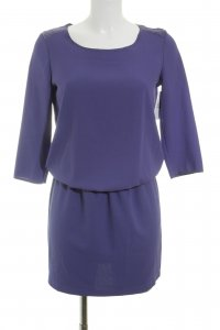 Selected Blusenkleid dunkelviolett Casual-Look