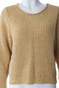 Selected Strickpullover Gelb