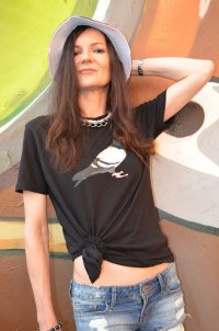 STAPLE PIGEON Unisex T-Shirt aus NYC by Jeff Staples Unisex Sz XS wie 36/38