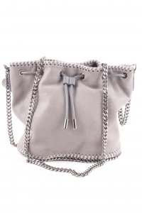 "Stella McCartney Beuteltasche ""Shaggy Small Bucket Bag Light Grey"" grau"