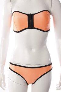 Triangl Bandeau-Bikini neon-orange