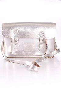 Zatchel Collegetasche silber metallic