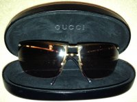 Gucci Sonnenbrille in Braun /Gold, 100% Original