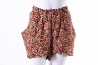 Divided Blumen-Shorts