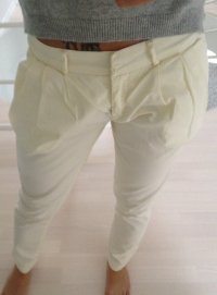 Gang Chino Sally Slim Gr. 26 beige/gelb NEU