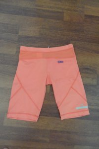 Stella McCartney for Adidas Short in der Trendfarbe Coral Größe 36 (eher 34)