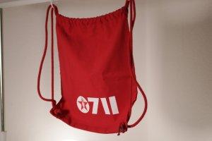 Stanley & Stella Sac à dos pour ordinateur portable rouge foncé-rouge coton