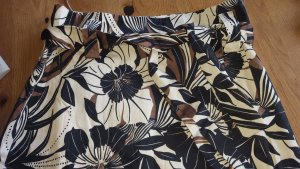 1.2.3. UN DEUX TROIS Paris Spódnica midi czarny-czarno-brązowy