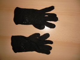 Esprit Knitted Gloves black mixture fibre