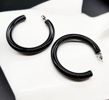 Ear Hoops black