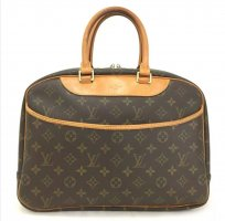 100% Authentic Preloved Louis Vuitton Monogram Deauville Boston Hand Bag