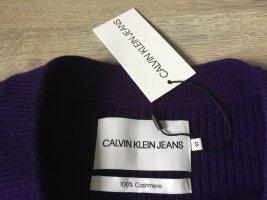 Calvin Klein Jeans Pullover in cashmere viola scuro Cachemire