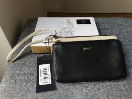 100% Leder Clutch / Portemonnaie