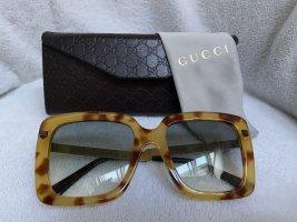 100% Originale GUCCI Damen Sonnenbrille mit Rechnung- Farbe Havana