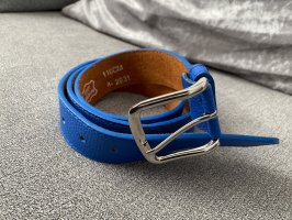 110 cm langer gürtel in königsblau / royalblau
