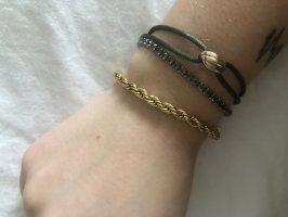 icrush Bracelet en or doré