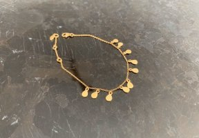 Leaf Gold Bracelet gold-colored