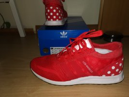 Adidas Originals Sznurowane trampki czerwony