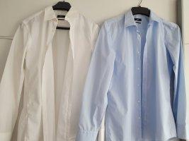 2 langärmelige Herren Hemd