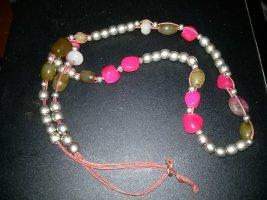 2 Modeschmuck- Halsketten lang - 46 cm und 53 cm - neu- bilder ansehen
