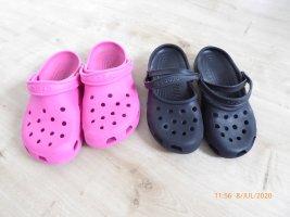 Crocs Slip-on Shoes neon pink-black
